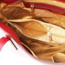 OLIMPIA イタリア製ルーガ・カーフレザーの2WAYショッピングバッグ(小)詳細