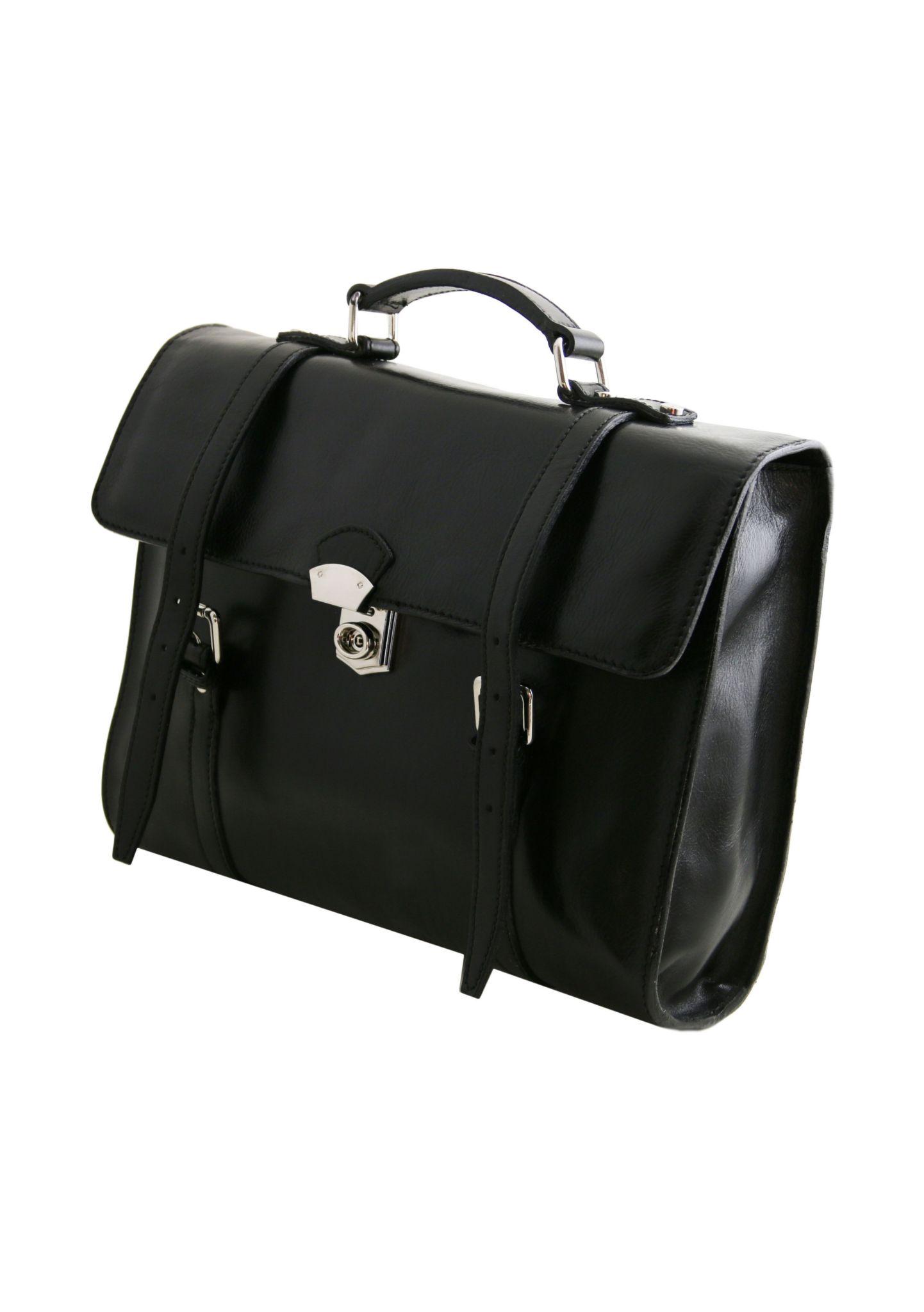 Viareggio esclusiva cartella porta notebook in pelle con 3 - Notebook con porta parallela ...
