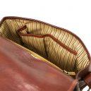 GIULIAイタリア製 ベジタブルタンニンレザーのショルダーバッグ