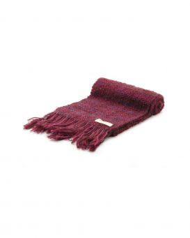 bordeaux手織りマフラー