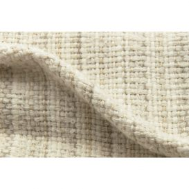 イタリア製ハンドメイド手織りマフラー、ステファノ・チャッピ、stefano ciappi、ナチュラル、生成り、ベージュ、白、アイボリー