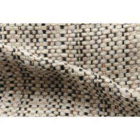 イタリア製ハンドメイド手織りマフラー、ステファノ・チャッピ、stefano ciappi、ナチュラル、生成り、ベージュ、茶系、アイボリー