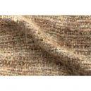 イタリア製ハンドメイド手織りマフラー、ステファノ・チャッピ、stefano ciappi、ベージュ、茶系、アイボリー