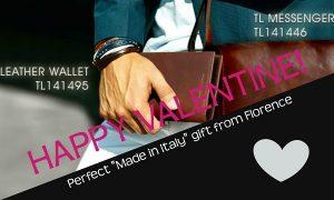 当店がお勧めするバレンタイン・ギフトはイタリア製のお財布♪