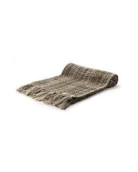 TESTA DI MOROカシミヤ混の手織りマフラー