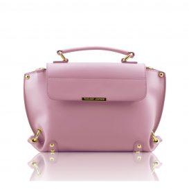 RUGA イタリア製カーフレザーのツーウェイバッグTL Bag・ライラック・ピンク
