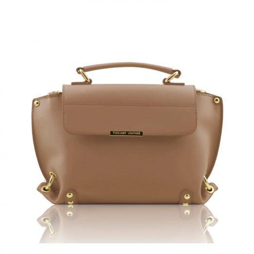 イタリア製本革バッグ人気デザイン、RUGA カーフレザーの2WAYバッグTL Bag、ダークトープ、トープ、グレージュ、グレイベージュ