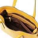 OLIMPIA イタリア製ルーガ・カーフレザーの2WAYショッピングバッグ(大)詳細
