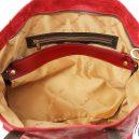 イタリア製ANNIE ヴィンテージ加工カーフレザーの2WAYトートバッグ TL Bag (モジュール対応)詳細11