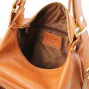 イタリア製柔らかいソヴァージュレザーの3WAYリュック&ショルダー&ハンドバッグTL BAG、詳細1