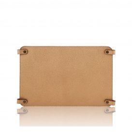 カーフレザーのバッグ仕切りモジュールTL SMART MODULE、ゴールド