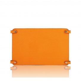 カーフレザーのバッグ仕切りモジュールTL SMART MODULE、オレンジ