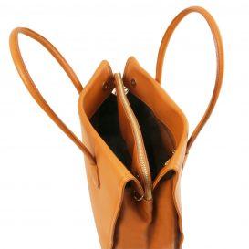 イタリア製・柔らかいソヴァージュレザーのショルダーバッグTL Bag・詳細6