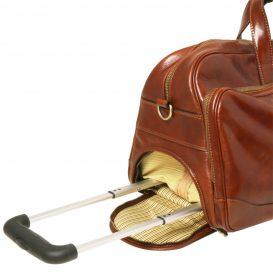 SAMOA イタリア製ボストンバッグタイプ・2車輪スーツケース(小)詳細7
