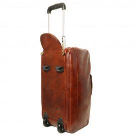 SAMOA イタリア製ボストンバッグタイプ・2車輪スーツケース(小)詳細6