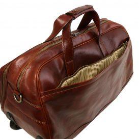 SAMOA イタリア製ボストンバッグタイプ・2車輪スーツケース(小)詳細5