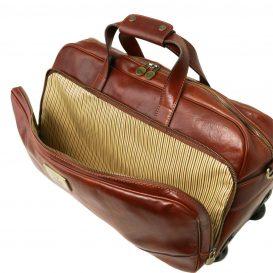 SAMOA イタリア製ボストンバッグタイプ・2車輪スーツケース(小)詳細4