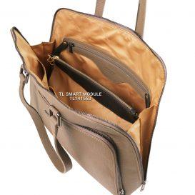 イタリア製LUCCA シボ加工カーフレザーの2WAYビジネスバッグ、モジュールイメージ