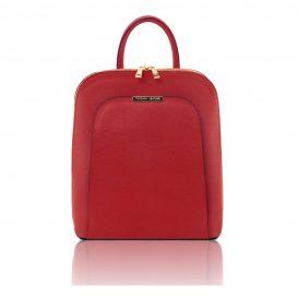 Zaino donna in pelle Saffiano TL Bag Rosso