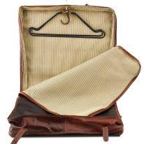 イタリア製ベジタブルタンニンレザーの旅行/衣装バッグ TAHITI、詳細6