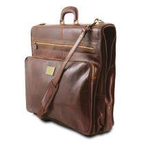 イタリア製ベジタブルタンニンレザーの旅行/衣装バッグ PAPEETE、詳細1