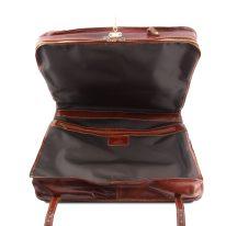 イタリア製ベジタブルタンニンレザーの旅行/衣装バッグ PAPEETE、詳細3