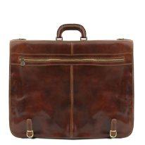 イタリア製ベジタブルタンニンレザーの旅行/衣装バッグ PAPEETE、詳細4