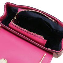 イタリア製スムースレザー2WAYハンドバッグ LUNA、詳細