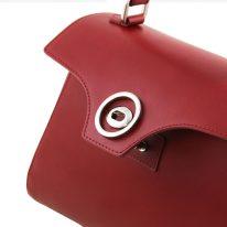 イタリア製スムースレザー2WAYハンドバッグ TL BAG、詳細2