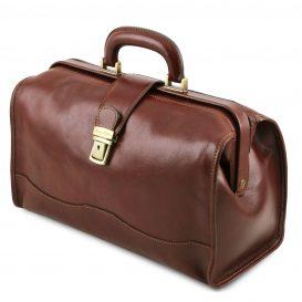 イタリア製ベジタブルタンニンレザーのバッグ RAFFAELLO、詳細1
