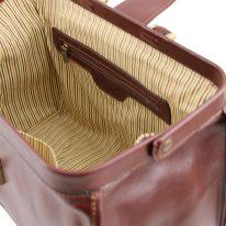 イタリア製ベジタブルタンニンレザーのバッグ RAFFAELLO、詳細5