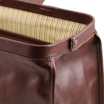 イタリア製ベジタブルタンニンレザーのバッグ RAFFAELLO、詳細7
