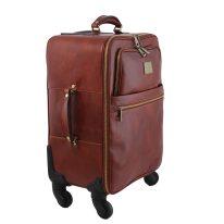 イタリア製ベジタブルタンニンレザー4車輪スーツケース/キャリーバッグ TL VOYAGER、詳細1