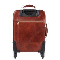 イタリア製ベジタブルタンニンレザー4車輪スーツケース/キャリーバッグ TL VOYAGER、詳細3