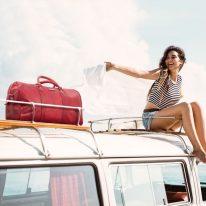 イタリア製ベジタブルタンニンレザーのボストンバッグ OSLO、使用イメージ