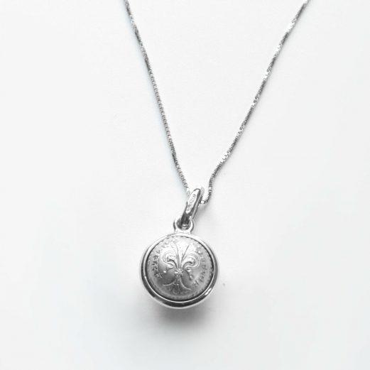 フィオリーノコイン球体ネックレス5