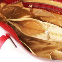 イタリア製スムースレザー2WAYトートバッグSサイズ OLIMPIA、詳細2