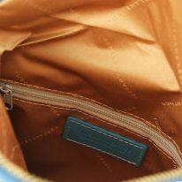 ソフトレザーのタッセルつきポシェット TL Young Bag