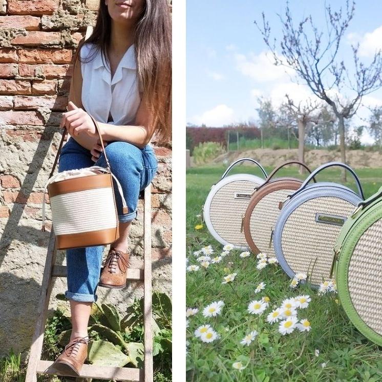21NEWイタリア製かごバッグのイメージ