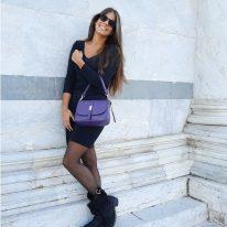 イタリア製スムースレザー2WAYバッグ NAUSICA、使用イメージ